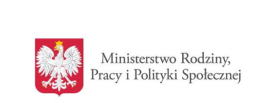 logotyp ministerstwo rodziny pracy i polityki społecznej