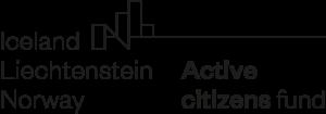 Logotyp Active citizens fund Iceland Liechtenstein Norway