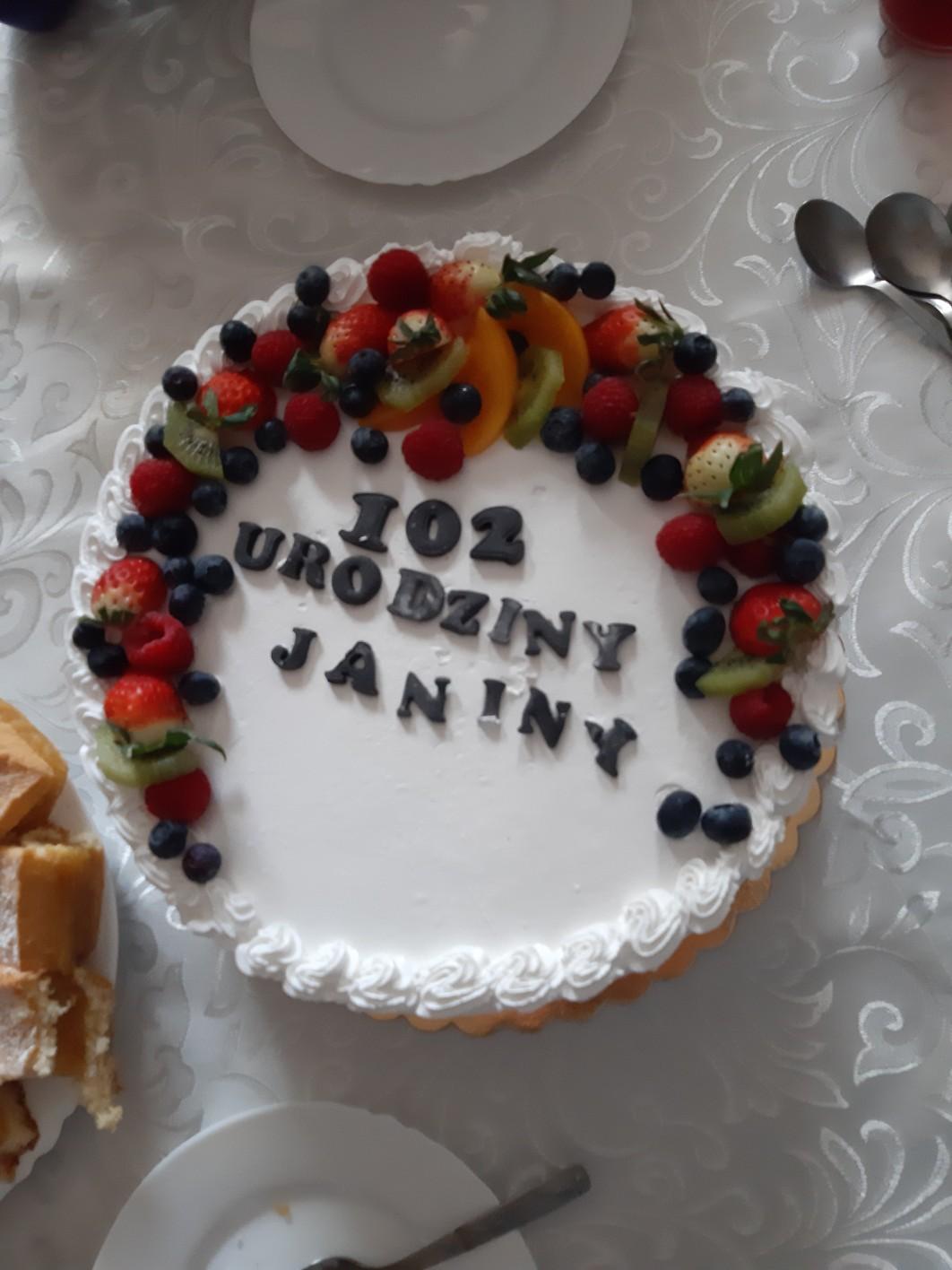 102 urodziny naszej mieszkanki