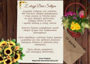 życzenia z okazji Dnia Sołtysa_