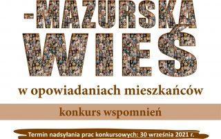 konkurs wspomnień o warmińsko-mazurskiej wsi XX wieku
