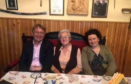 Iskierka pamięci, która nie gaśnie… – wizyta u Pani Ewy Juszkiewicz