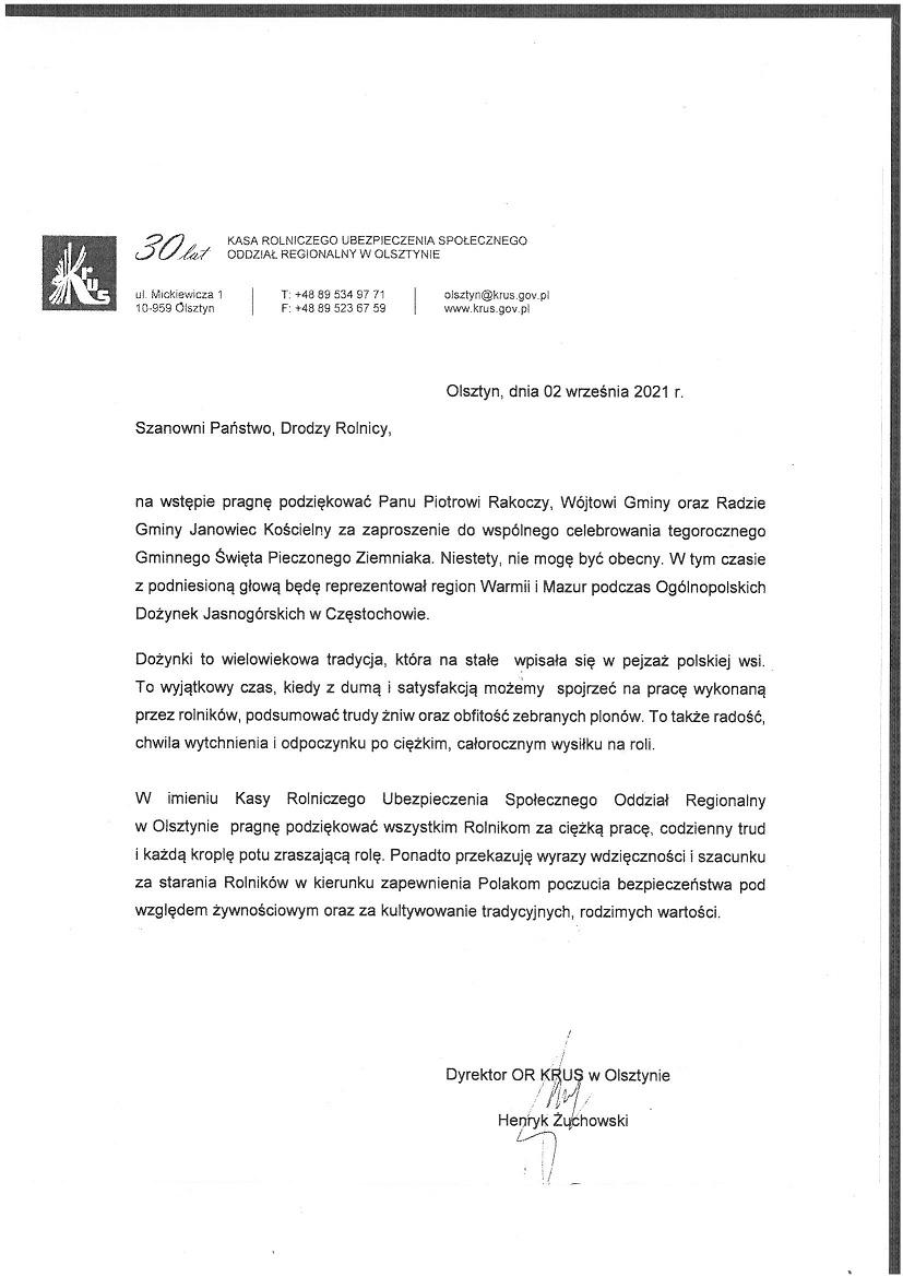 Dyrektor KRUS